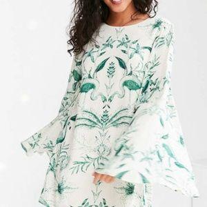 URBAN OUTFITTERS Kimchi Blue BirdsOfParadise Dress